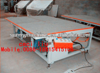 Air float table / manual glass cutting table