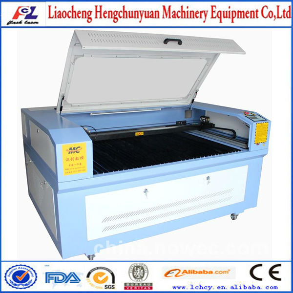 engraving laser machine/wood laser cutting machine/80 watt laser cutter