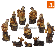 2017 resin native american nativity sets for wholesale