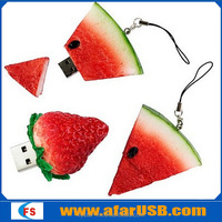 Factory OEM bulk cheap 4gb usb flash drive usb flash memory food shape usb disk