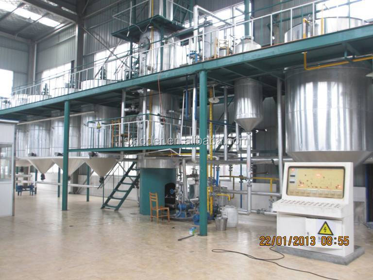 Edible oil production plant,<a href=