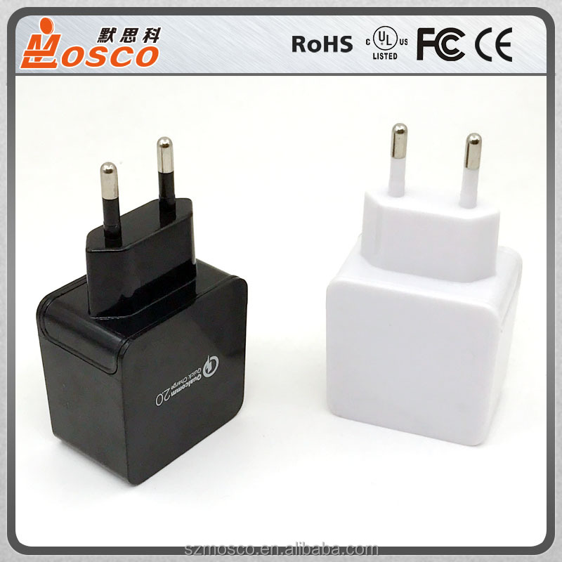 Good price usb fast charger multi ports EU US plugs optional CE approved
