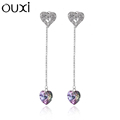 Best fashion unique elegant crystal stud earrings for party