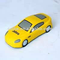 PU toys yellow car
