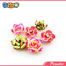 Flower shaped colorful polymer modeling clay flower for sale
