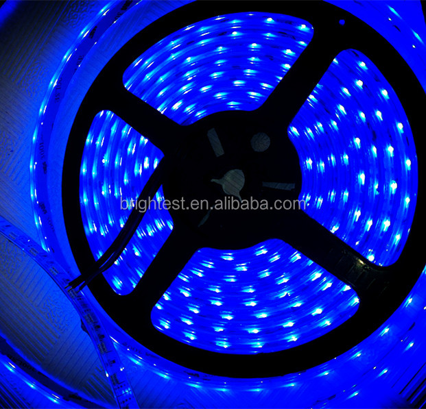 perfect lighting effect 12V SMD 5050 LED strip waterproof 60leds/m with good quality