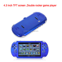 Manufacture price Double rocker game player in mp4 player