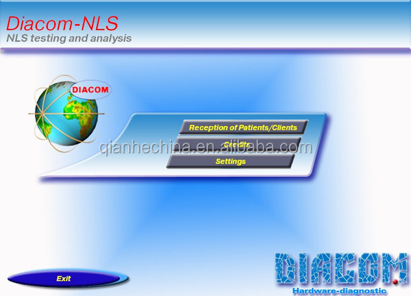 Professional 3d nls quantum health analyzer