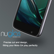 Nuglas 2.5D Round edge 0.3mm Screen Protector For Motorola Moto G4 Play High Clear Tempered Glass Protective Film