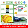 China manufactor high quality health tasty food additives pineapple flavor