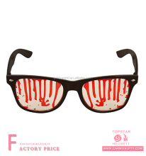 Funny bulk halloween festival favor blood bleeding lense black glasses