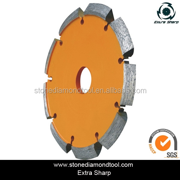 4 inch V Shape tuck point cutting blade/Laser Welded diamond saw blade