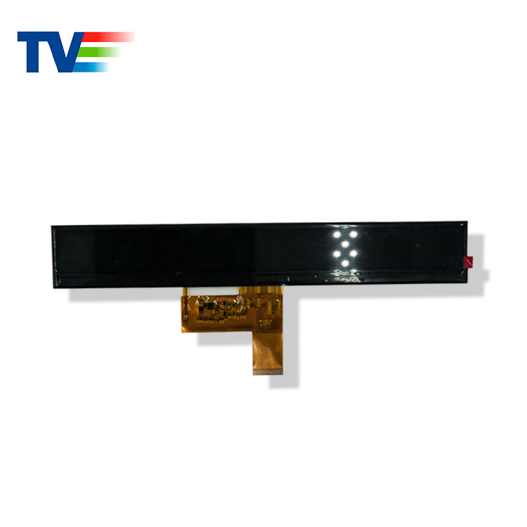 (6.8/7.8/8.8/12.3' Optional)10.4 inch 1024x100 Sunlight Readable Stretched Bar Type LCD Display Module
