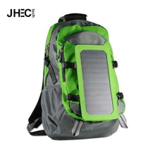 Outdoor 6.5W portable solar power bag solar panel backpack for hiking,travel,camping