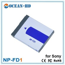 NP-FD1 Ultra Thin Lithium Ion Polymer Camera Battery for Sony Cyber-shot DSC-T2 DSC-T70