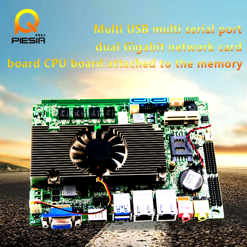 Mini-itx motherboard with Intel GMA3150 graphics card, high speed, firewall, dual core i7/i5/i3 Celeron processor