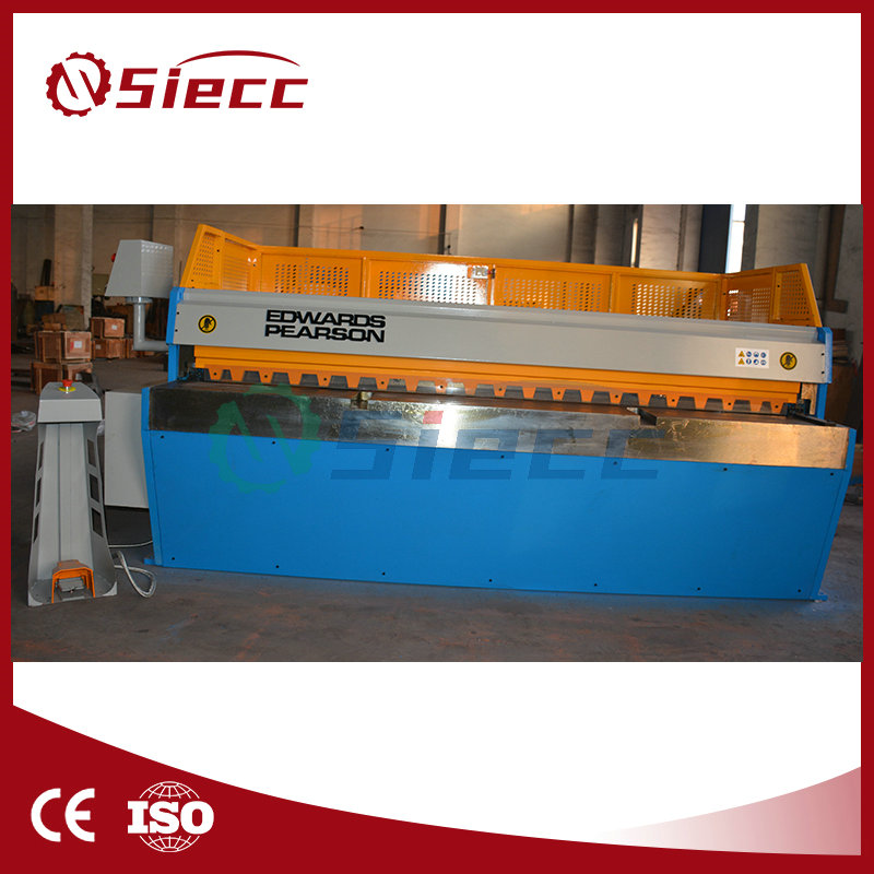 <strong>Q11</strong> electric mechanical metal sheet shearing machine,plate shears manufacturer,machinery cutting machine from china