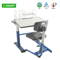 Height adjustable cheap classroom furniture