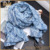 2017 scarf factory china new design multifunctional pattern scarf
