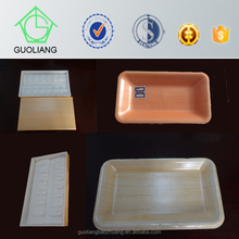 Made In China Customized Disposable Plastic EPS Foam Trays For Chicken Meat