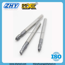 CTX-450 6mm 2 Flutes Carbide Ball Nose End Mill For Wood