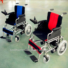 self-propelled motor wheelchair BME1023 has dual-directional operation with rear wheel drive