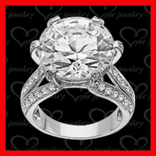 New arrival! 925 silver wedding rings engagement rings with real diamond