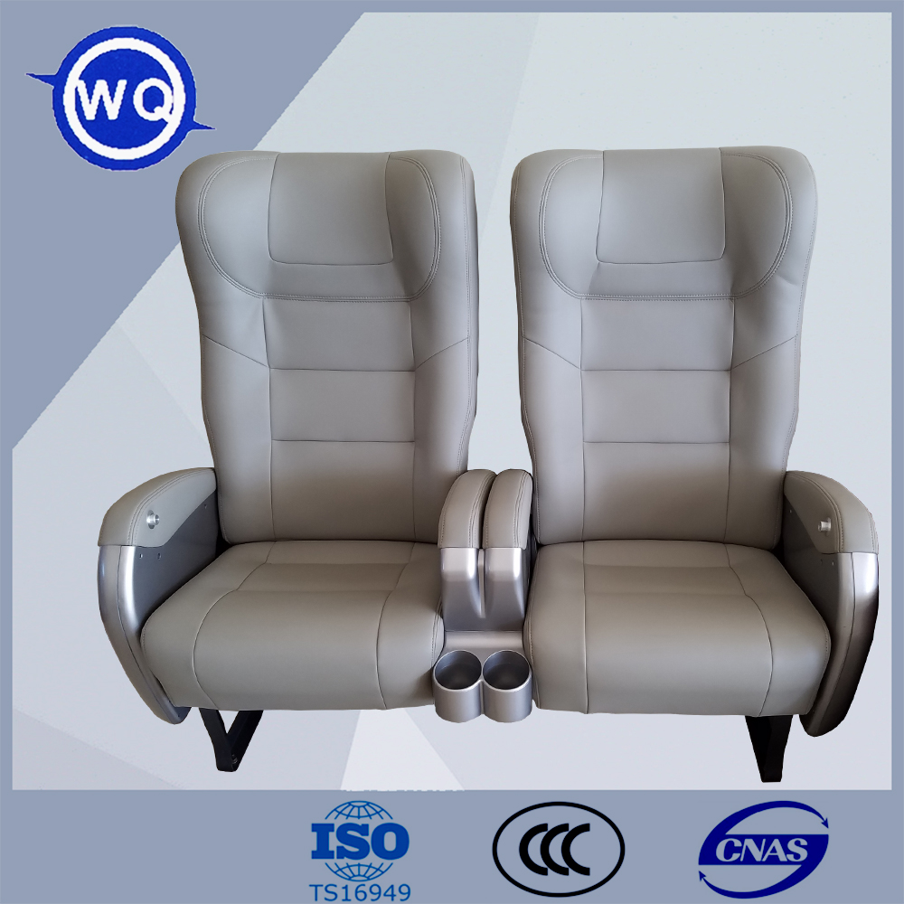 Luxury Leather Bus Seat / Coach Seat