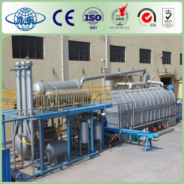 used tyre reclaimed rubber machinery/pyrolysis plant