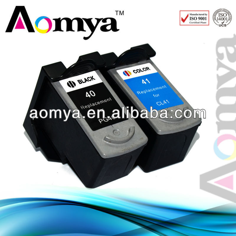 ink cartridge for canon pixma ip1880 printer pg40 cartridge