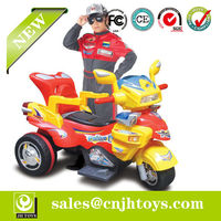 Hot Selling ! 1:4 Rc Ride On Motorbike With Light And Music (HD6833)