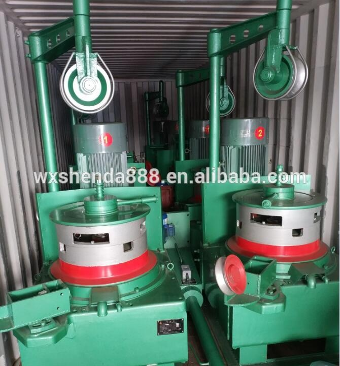 High Speed Low Carbon OTO Copper Wire Drawing Machines For Wire Nail