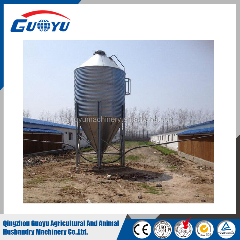 Pig Fram Poultry Farm Feed Storage Bin/Farming Grain Wheat Maize Silos From China