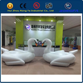 factory made eco-friendly top quality 0.3mm pvc MOQ 1PC inflatable swan