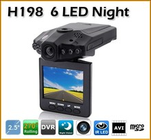 H198 2.5inch Car LED IR Vehicle DVR Road Dash Video Camera Recorder Traffic Dashboard Camcorder