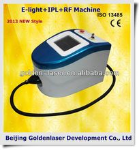 2013 New design E-light+IPL+RF machine tattooing Beauty machine cosmetology training