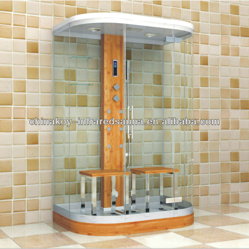 Tempered sauna steam, steam shower room S026