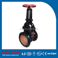 Cast Iron GG25 Flanged Gate Valve