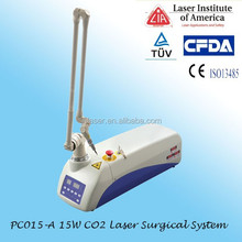 High quality medical co2 fractional laser stretch mark removal beauty machine for hot acne removal