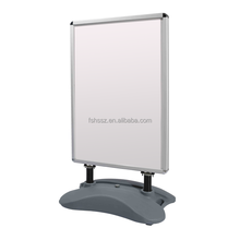 cost price water filled base poster stand/sidewalk sign for poster