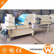 Agricultural waste processing machine rice wheat straw grass shredder