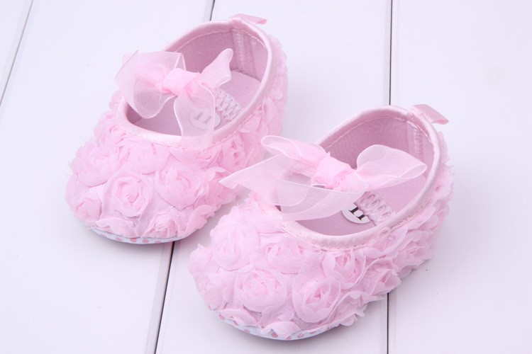 Jpshoes Hot Selling Baby Girl Shoes Cute Pink