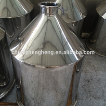 "Stainless steel conical hopper/Stainless steel funnel with 1.5"" tri clamp/Stainless funnel factory"