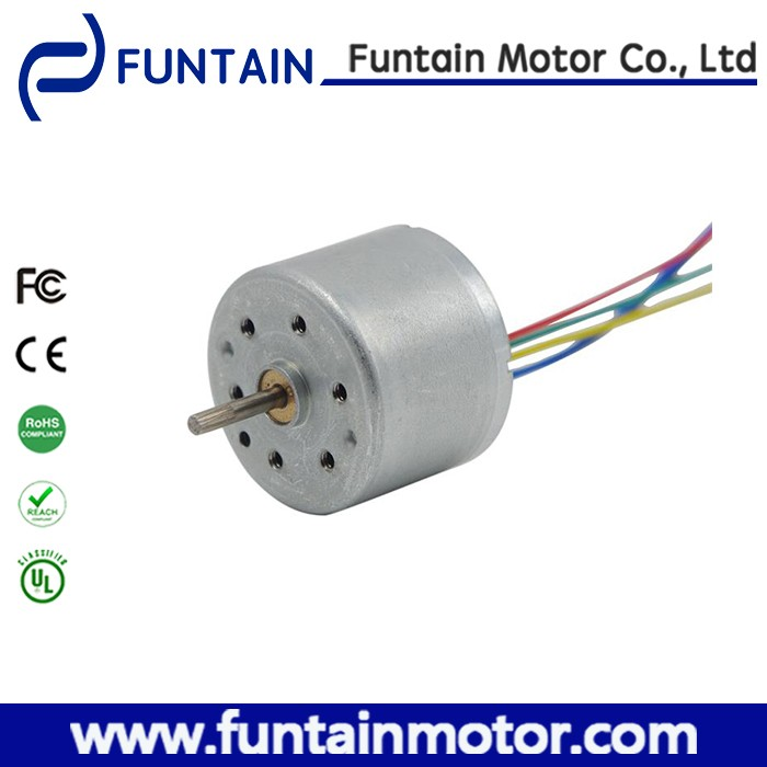 Small brushless electric dc motor with high torque 24mm diameter 18mm body length
