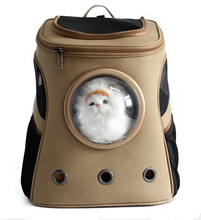 JBK PET Capsule shape easy carrier canvas cat dog pet carrier backpack bags