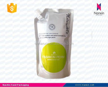 promotional spouted shampoo packaging bag