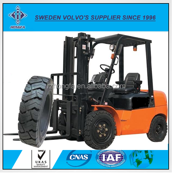 China Cheap Forklift Solid Tyres Wheel