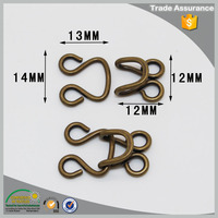 wholesale china factory trouser/dress/garment hook and eye