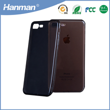 Factory Making soft transparent slim tpu back case for iphone6
