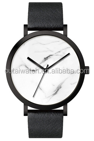 blank dial hot product marble watch watch casing